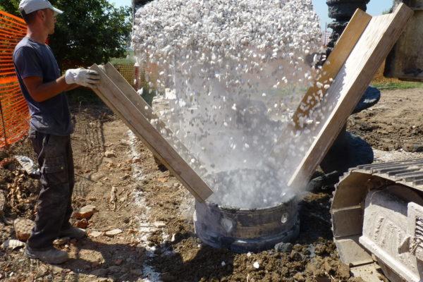 impresa edile pali drenanti